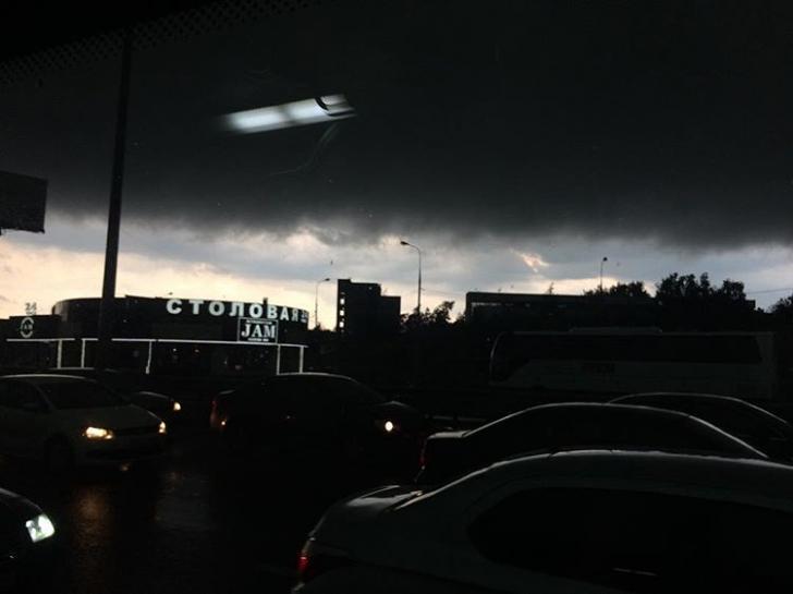 В Москве - страшный Ветхозаветный Потоп. Вот фото