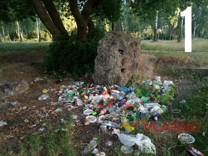 14-летняя украинка сама убрала весь мусор на полуострове! Вот фото