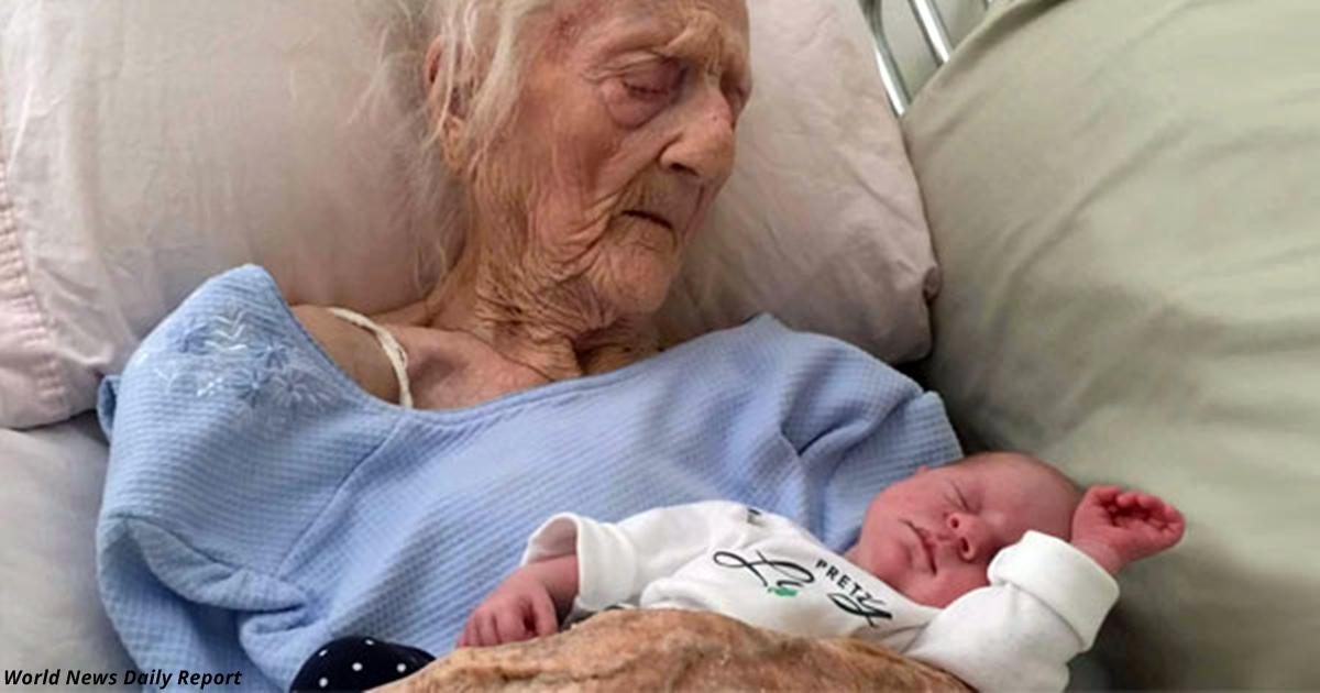 Это самая старая в мире МАТЬ! Ей 101, и она родила ребенка!
