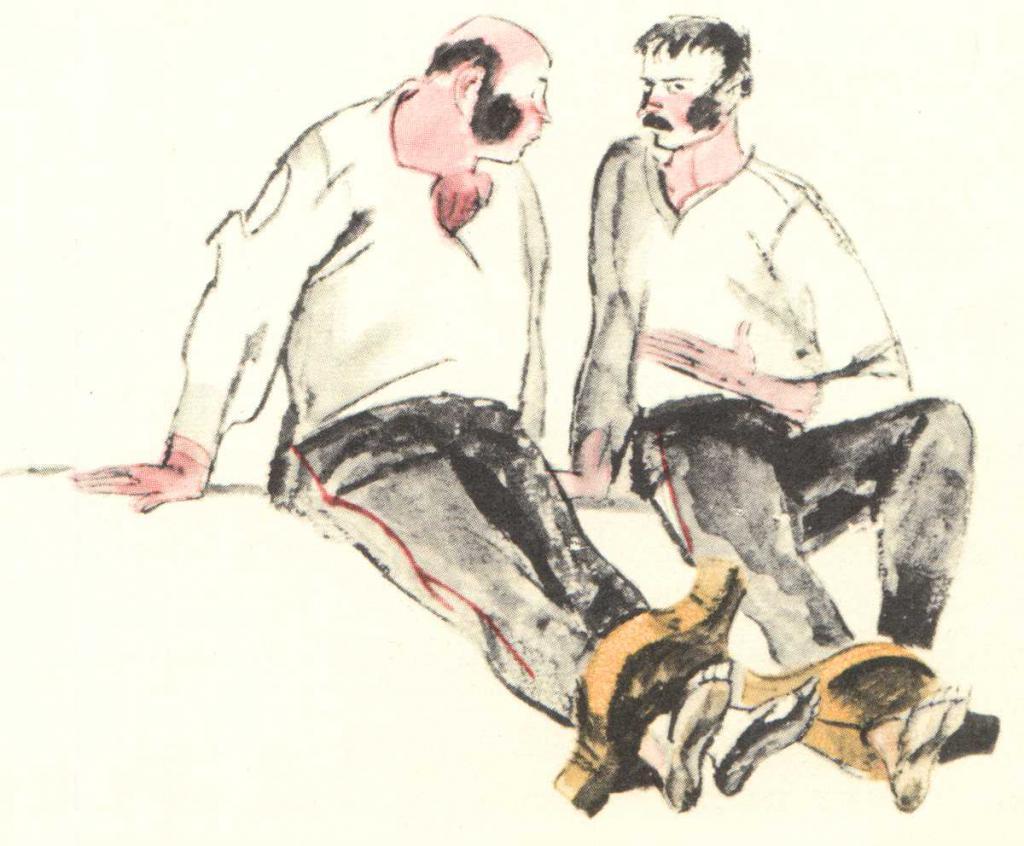 Сравнительная характеристика Жилина и Костылина в рассказе