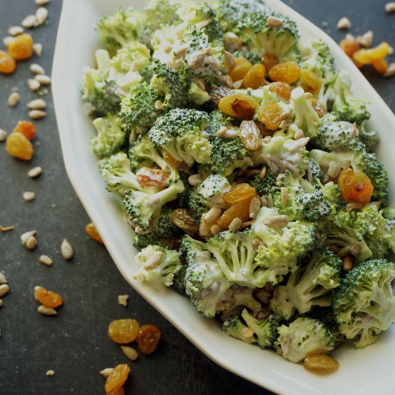 капуста брокколи рецепты салатов