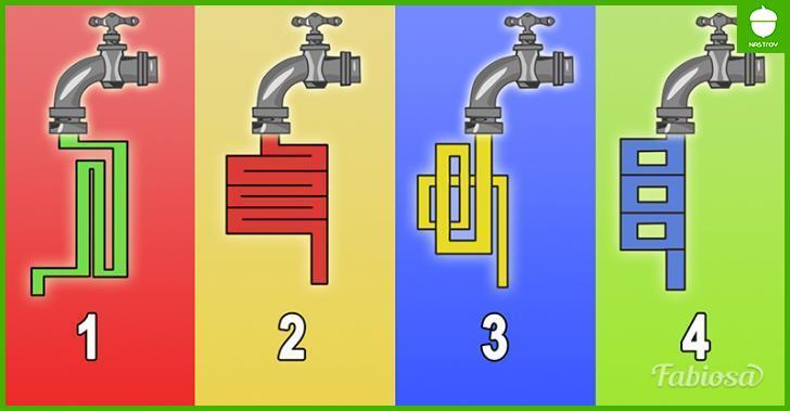 Через какой кран вода потечет быстрее? Ответ расскажет о вашем уровне интеллекта