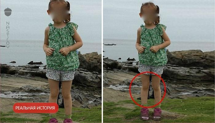 Отец фотографировал свою дочь на скалах, когда он посмотрел снимки, то ужаснулся!
