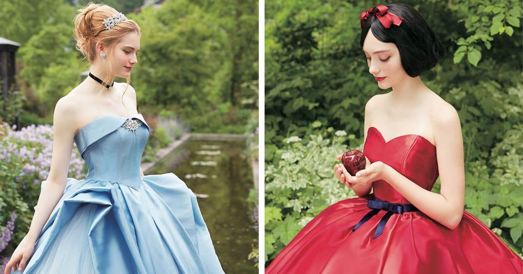 0fd0834fe93 Свадебные платья в стиле диснеевских принцесс