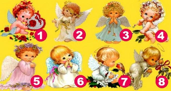 ТЕСТ: Выберите ангелочка и узнайте, что вас ожидает в ближайшем будущем