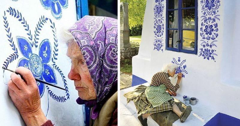 90-летняя бабушка превратила свою чешскую деревню в музей! Вот как это было