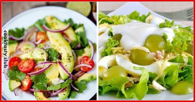 Подборка легких и вкусных салатов к 8 Марта