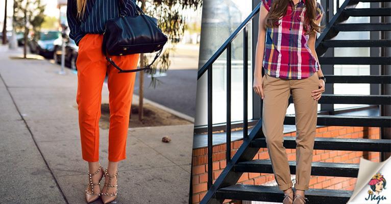 Хит сезона: брюки-чинос! 40 потрясающих идей