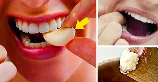 Простой способ избавиться даже от самой сильной зубной боли не выходя из дома!