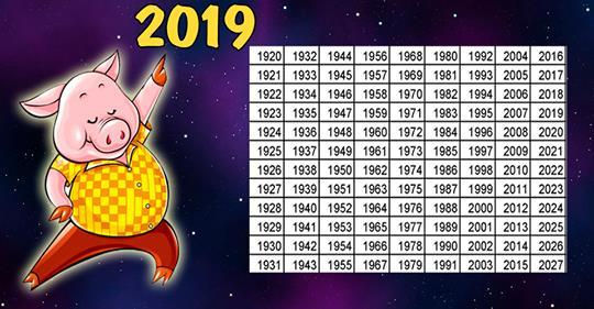 Предсказания на 2019 год по году рождения : вот что вас ждёт