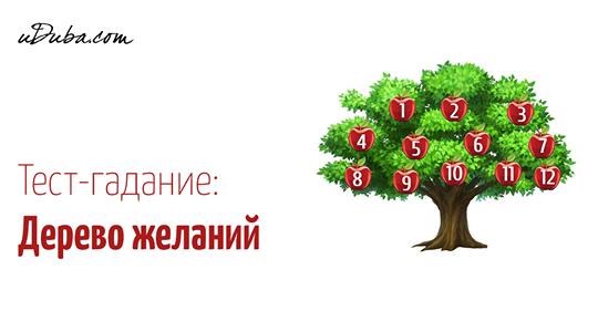 Дерево желаний: загадывайте желания, выбирайте фрукт и узнавайте, что вас ждет в будущем