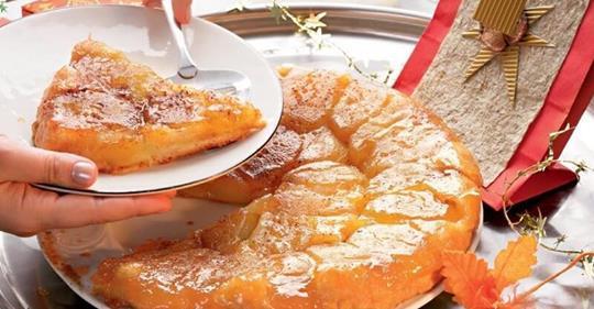Французский яблочный пирог «Татен». Очень легкий и невероятно ароматный