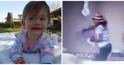 Мать установила в детской скрытую камеру. Та показа необычные вещи