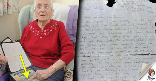 «Голос из глубины»: любовное письмо для 99-летней бабушки от солдата, пропавшего более 70 лет назад