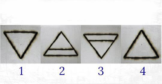 Выберите магический треугольник и узнайте, в чем является ваша сила