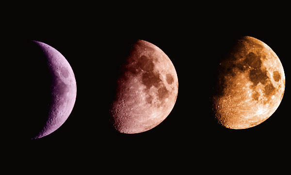 Растущая Луна в феврале 2019 года