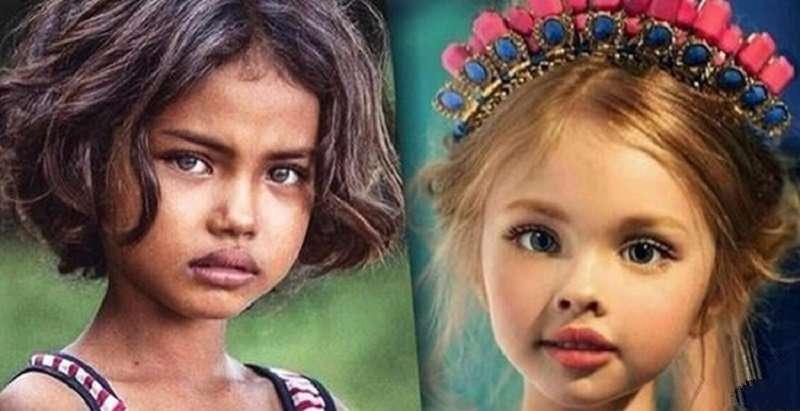 15 безумно красивых детей, которые заставят дрогнуть даже каменное сердце