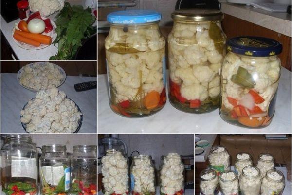 Маринованная цветная капуста по особому рецепту