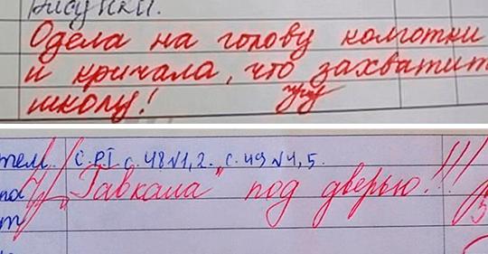 «Завтра в школу с родителями!»: 10 убойных замечаний из школьных дневников