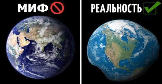 Круглая Земля — миф и еще 8 невероятных фактов о космосе, которых вы не знали