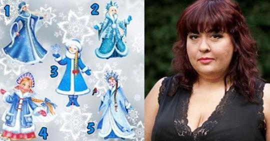 Выберите 1 из 5 снегурочек и узнайте предсказания на 2019 год от астролога Алены Куриловой
