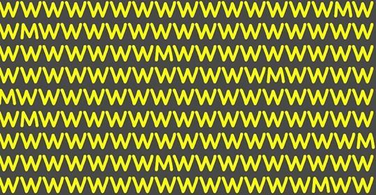 Тест на наблюдательность за 10 секунд: сколько букв «М» увидели, настолько вы внимательны к деталям