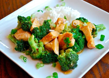 Курица с брокколи и грибами в соусе. Идеальное сочетание!