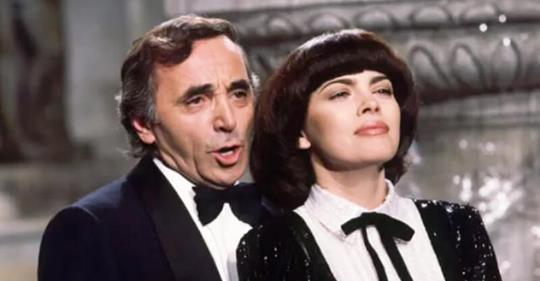 Прекрасная и красивая Вечная любовь — Мирей Матье и Шарль Азнавур.