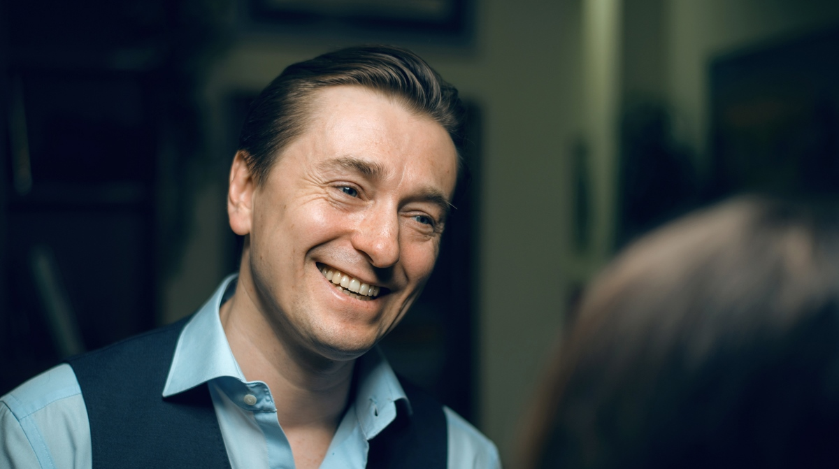 Сергей Безруков рассказал, почему ушёл от первой жены