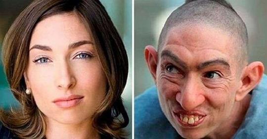 15 самых невероятных перевоплощений актёров при помощи грима
