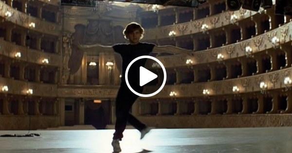 Барышников танцует под песню Высоцкого – идеальное сочетание