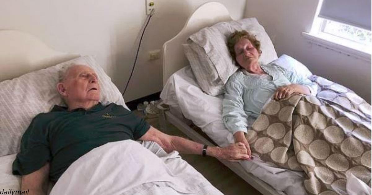 Они поженились 70 лет назад - и ушли в один день, с разницей в пару минут