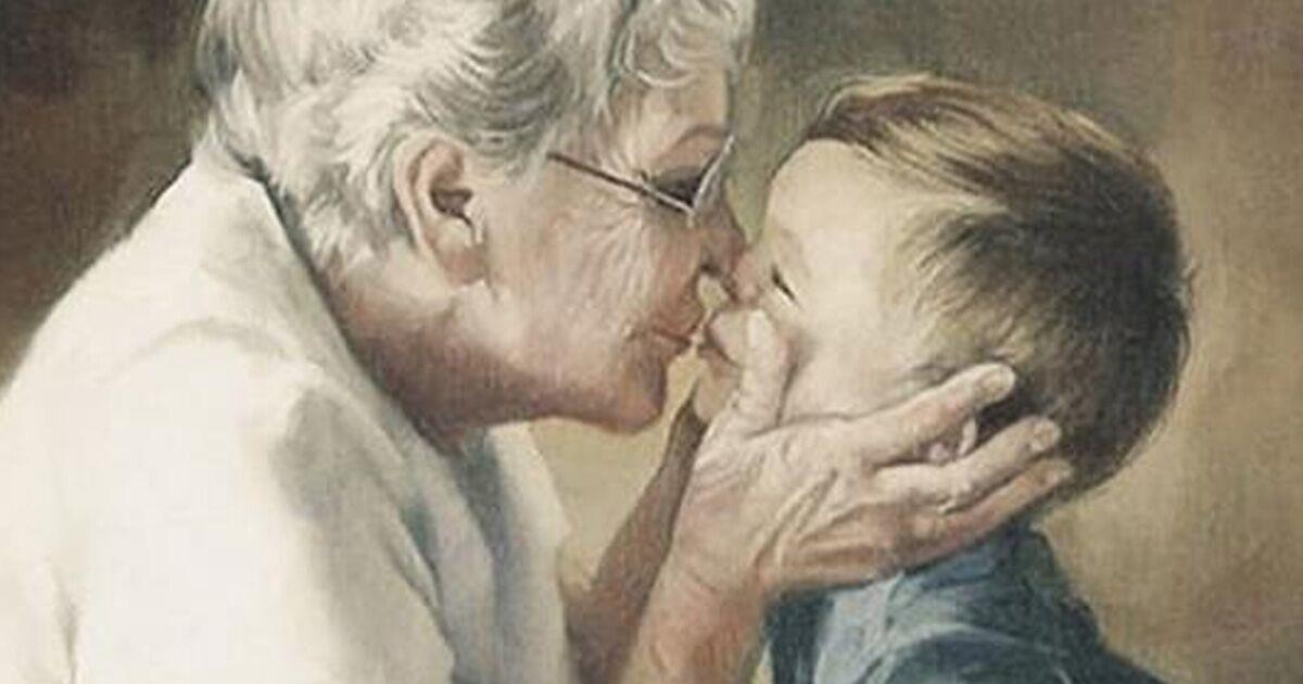 Любовь бабушек к внукам