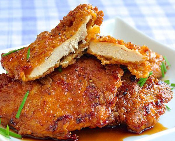 Теперь в приготовлении курятины для отбивных можно не использовать муку