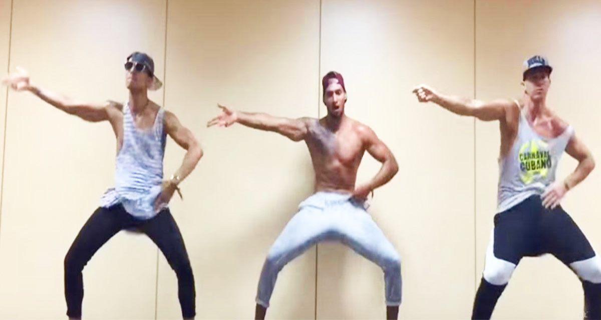 Говорят, что мужчины не танцуют… Но, Вы просто обязаны это увидеть!