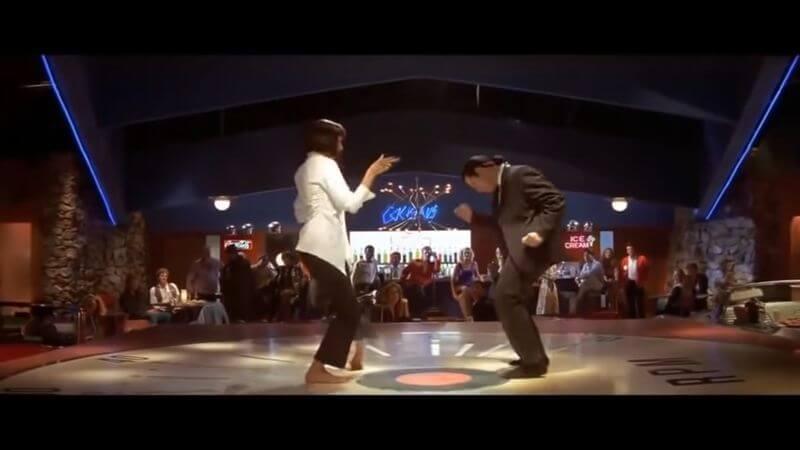 Легендарный танец Умы Турман и Джона Траволты из легендарного фильма