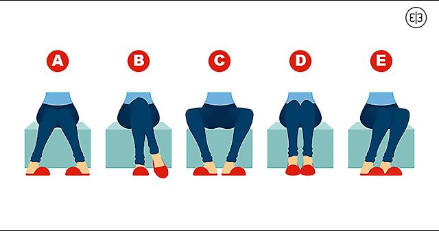 То, как вы сидите, расскажет многое о вашей личности