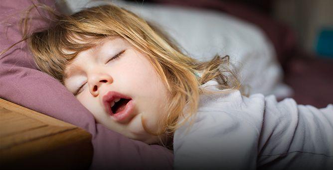 Дети не должны дышать через рот. Ни во сне, ни когда-либо еще