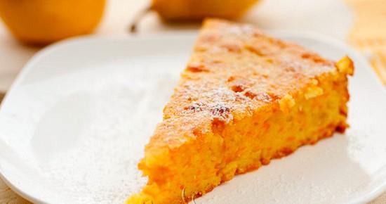 Волшебный кремовый наливной тыквенный пирог за час