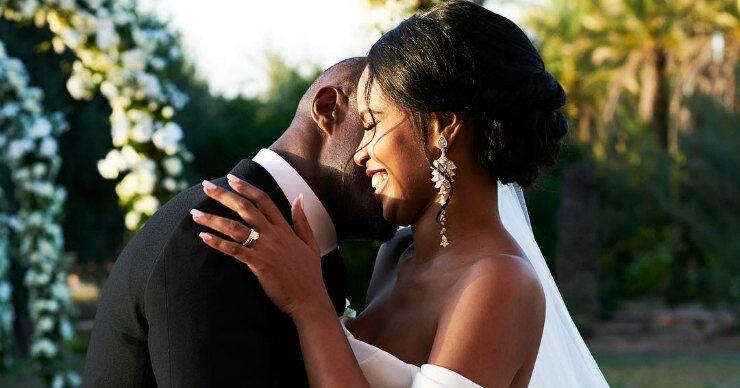 «Самый красивый мужчина мира» Идрис Эльба женился на королеве красоты