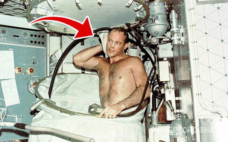 Почему космонавты не моются в душе и другие интересные факты из жизни в невесомости
