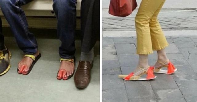 11 пар обуви, которые вызывают у людей недоумение
