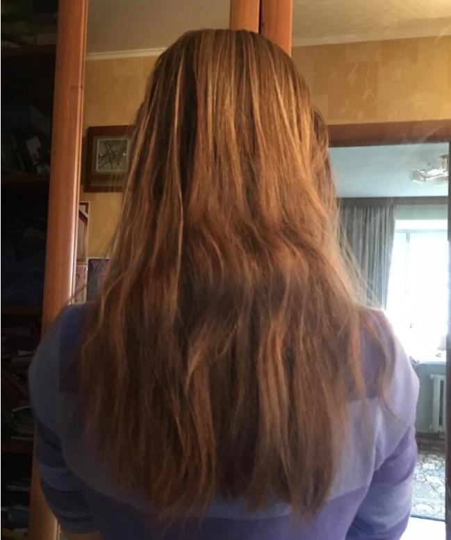 Муж — слесарь, сделал мне вечернюю причёску. Фото до и после