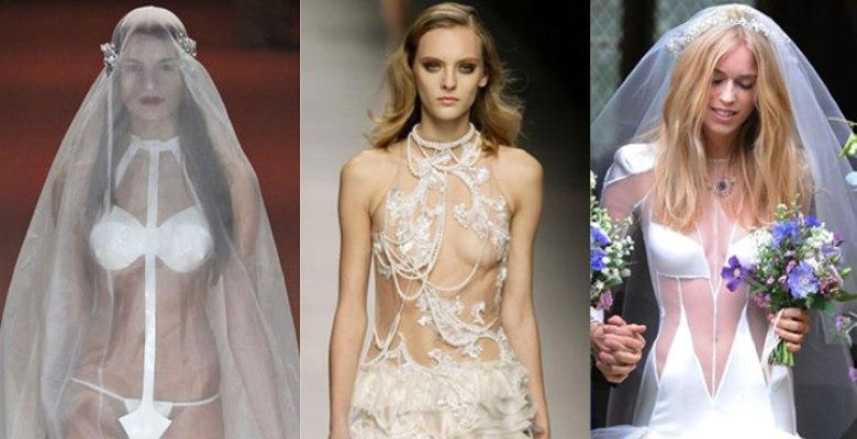 Самые неудачные свадебные наряды