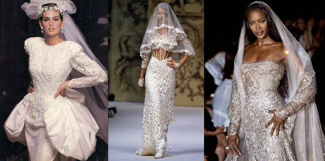 Свадебная мода в России 1990 х годов
