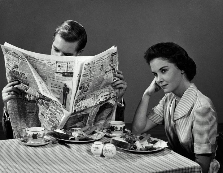 Мужчины игнорируют свою женщину 388 раз в году: исследование ученых