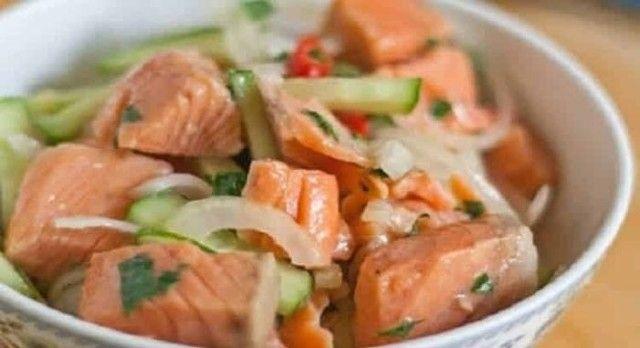 Рыбный салат по корейски: на Новый год можно себе позволить