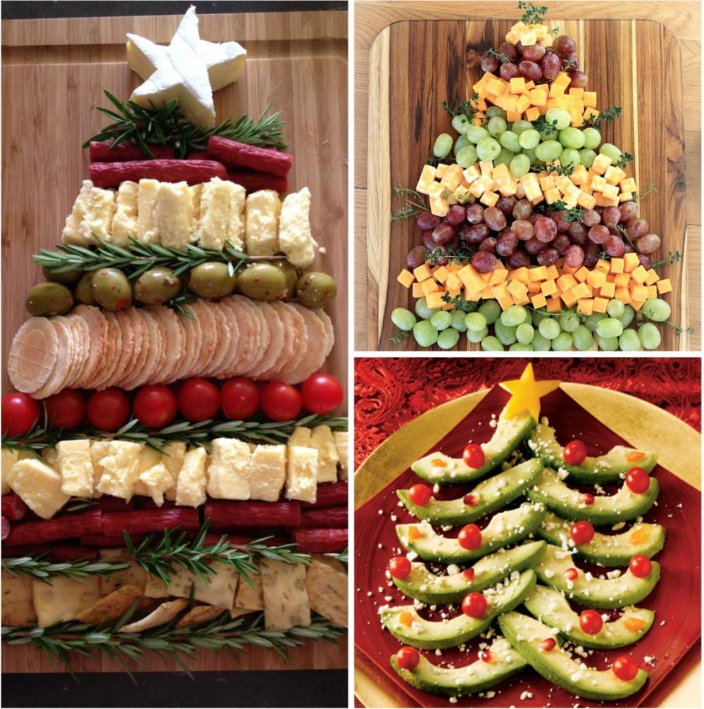 15 ариантов необычного оформления блюд для новогоднего стола