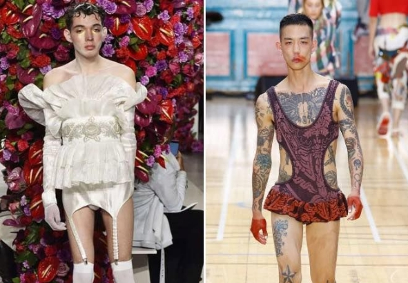 Куда катится мир? )) Такое будут носить в следующем году?! ))