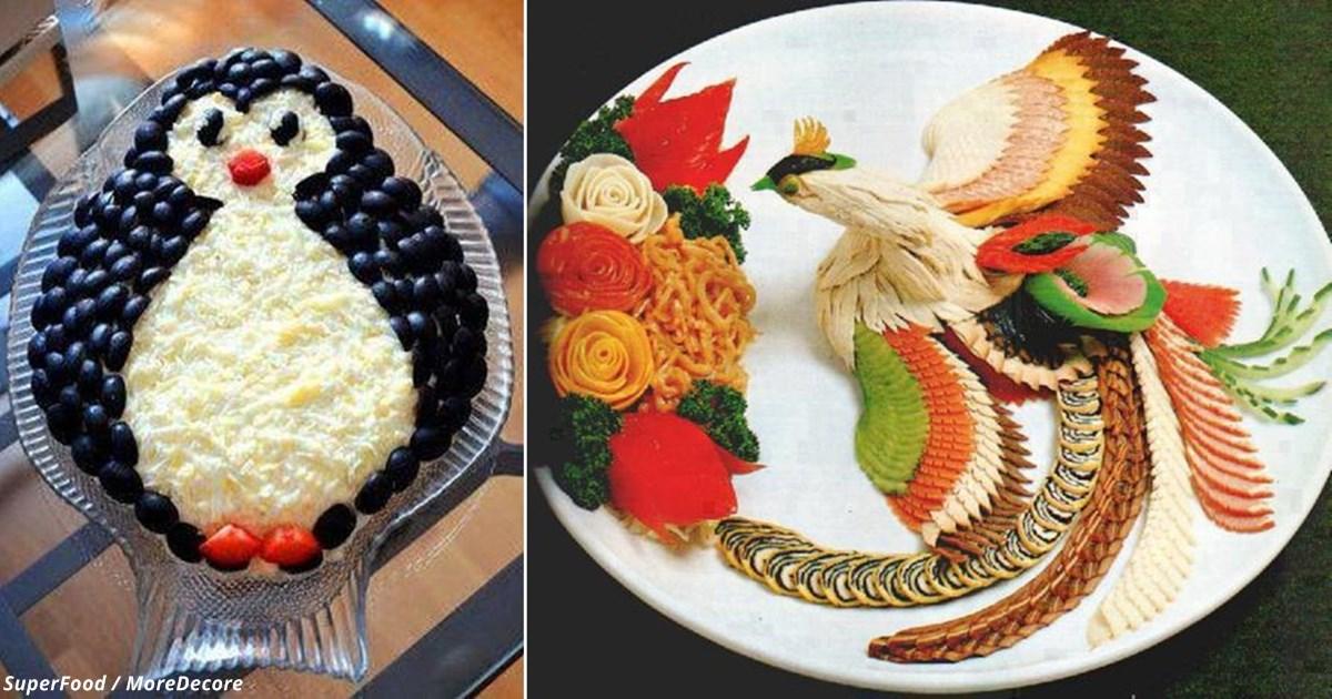 17 лучших идей для украшения блюд новогоднего стола